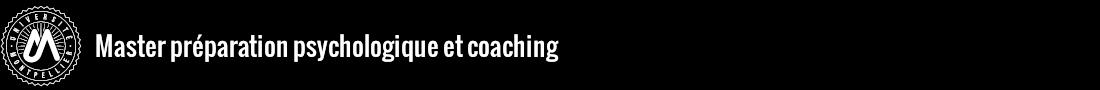 Master Préparation Psychologique et Coaching Logo